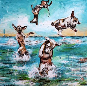 Pet Portraits by Gillie & Marc Contact KAB Gallery today to organise yours! 1300 78 7773