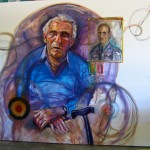 My FAther-His BAttle for Britain. Oil On Canvas 2011.1.8 x 2.4m