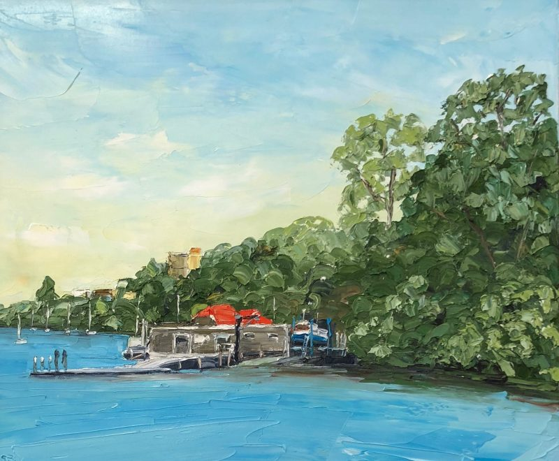 Mosman Bay ( Simon Buchan) - Available from KAB Gallery