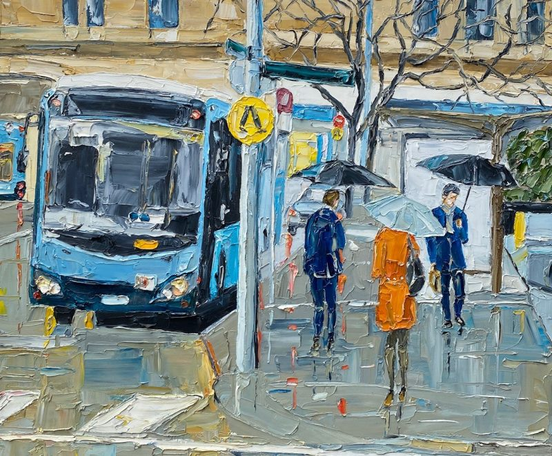Morning Rain ( Simon Buchan) - Available from KAB Gallery