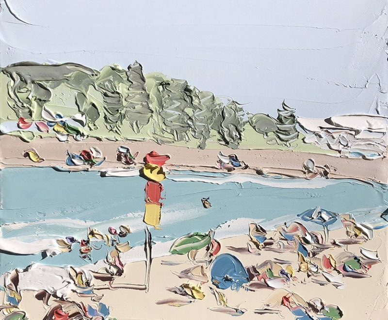 Terrigal Beach Study 1 ( Sally West) - Available from KAB Gallery