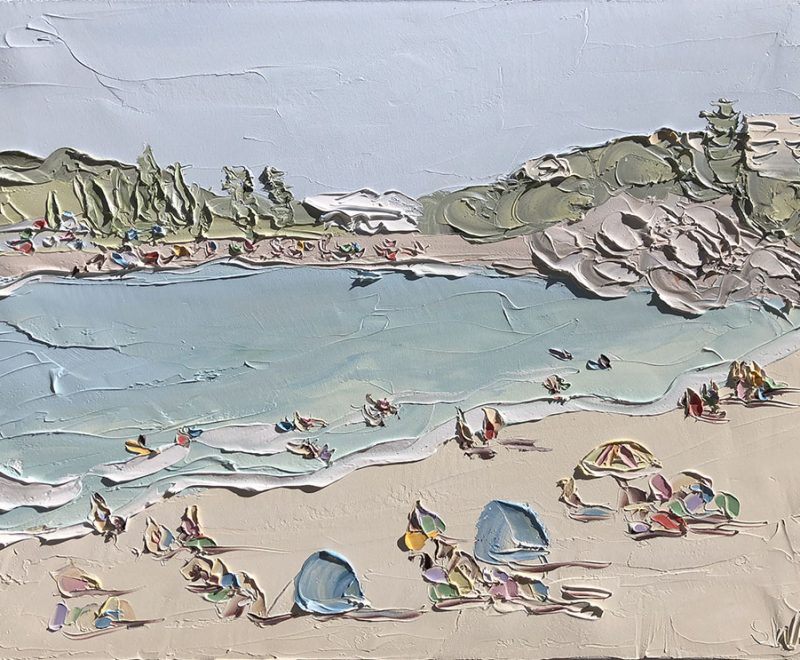 Terrigal Beach - The Cove ( Sally West) - Available from KAB Gallery