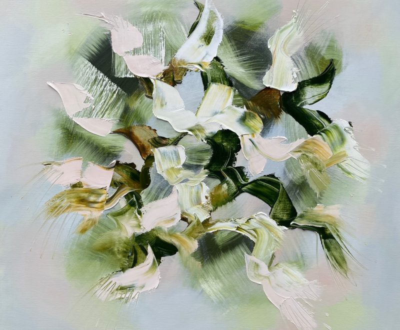 Sous les oliviers - IV ( Catherine Hiller) - Available from KAB Gallery