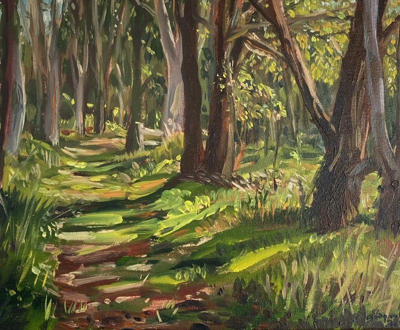 Kincumber Pathway ( Andy Collis) - Available from KAB Gallery